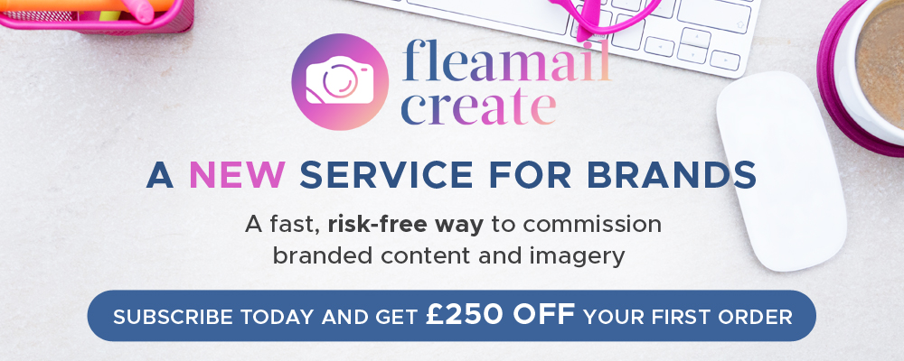 Get a £250 rebate when you first register for Fleamail Create